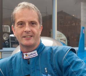 Don Wales Holder of UK land Speed Record for an Electric Car